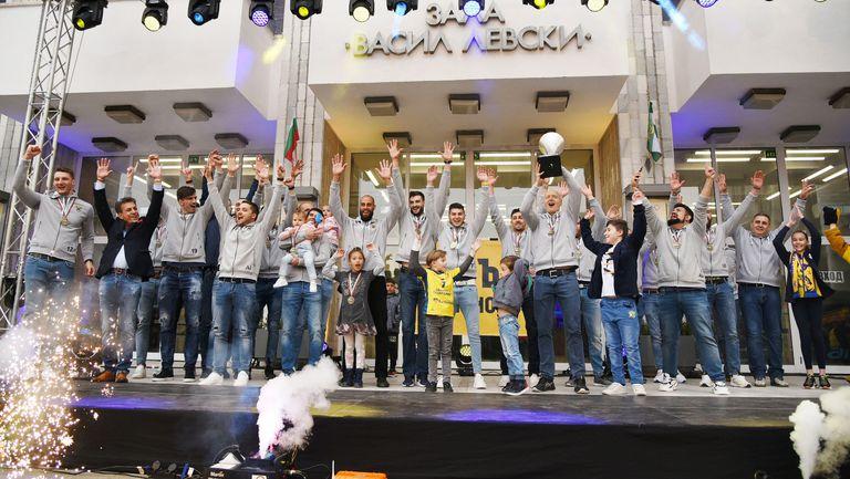 Шампионите занесоха Купата в Пазарджик (видео + галерия)
