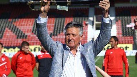 Иван Василев: Мечтите са ни големи, може би ще играем на нашия си стадион догодина