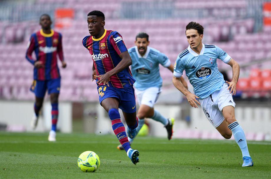 Барселона - Селта (16-05-21)