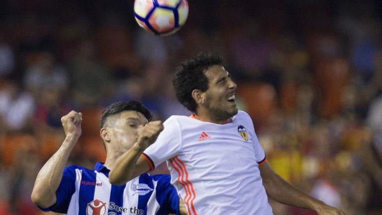 Автогол и дузпа донесоха първа победа на Валенсия (видео)