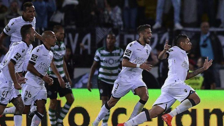 """Порто настигна Бенфика и Спортинг след голяма издънка на """"лъвовете"""""""