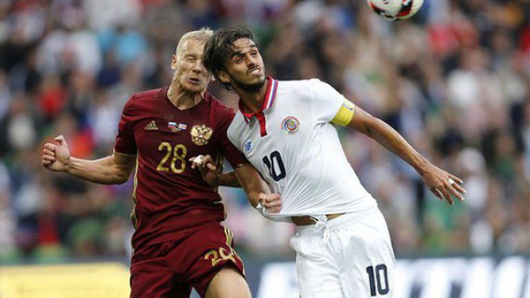 Трагикомедия за руски национал срещу Коста Рика