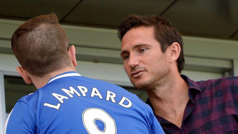 Франк Лампард мечтае да бъде мениджър на Челси