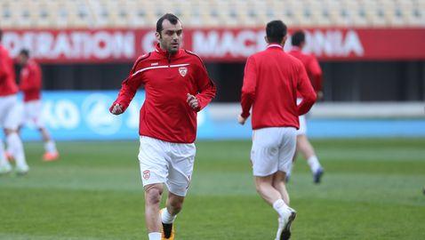 Горан Пандев: Ще оставим сърцата си на терена
