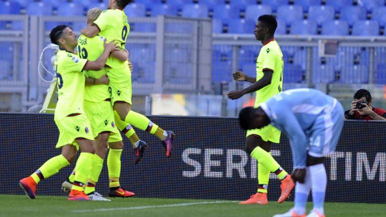 Лацио се спаси с гол от залата за пресконференции