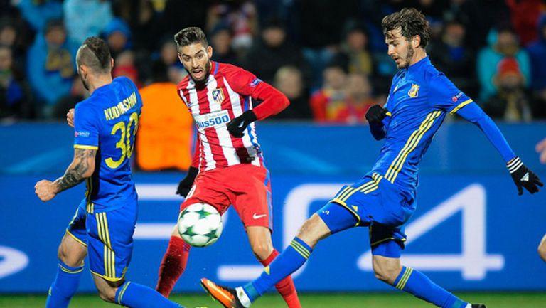 Три пъти по 1:0 за Атлетико (видео)