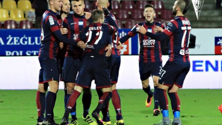 Спас Делев избухна с два гола в Полша