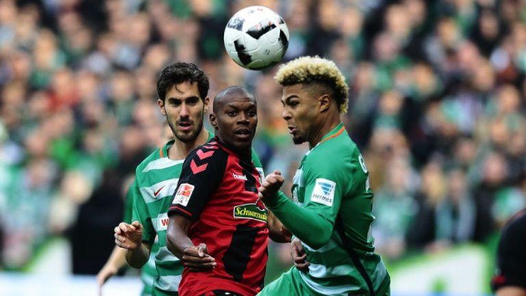 Нападател се контузи в първия си мач за Фрайбург