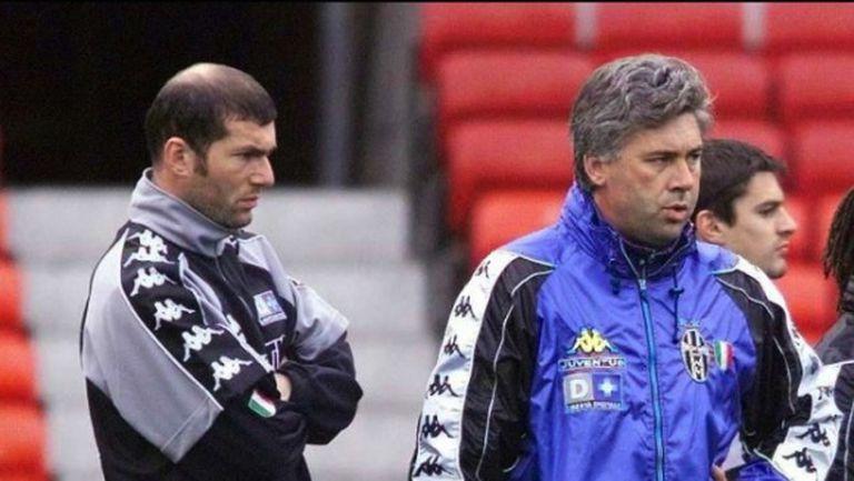Анчелоти видя един недостатък в кариерата на Зидан