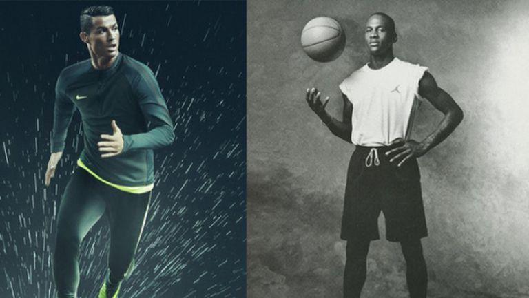 Грандиозен договор с Nike изравнява Кристиано с Майкъл Джордан