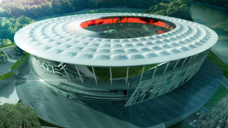 Новият стадион на Рома пълни касата на Рим
