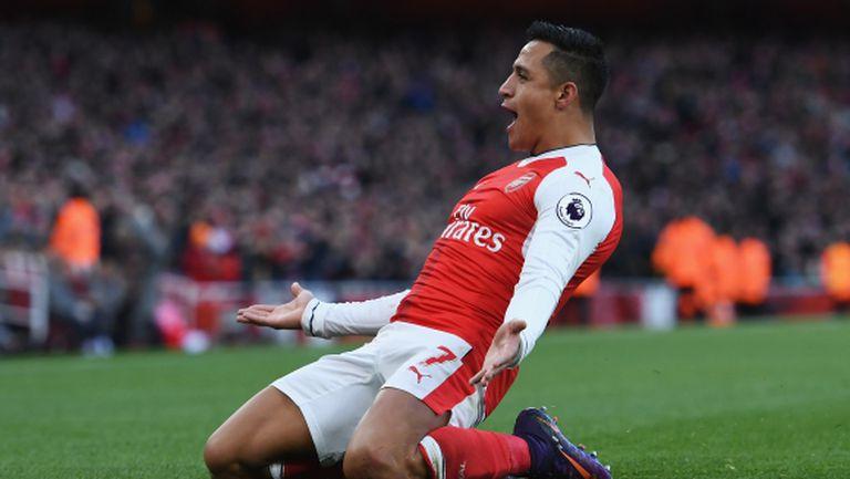 Арсенал поддържа темпото на лидерите (видео)