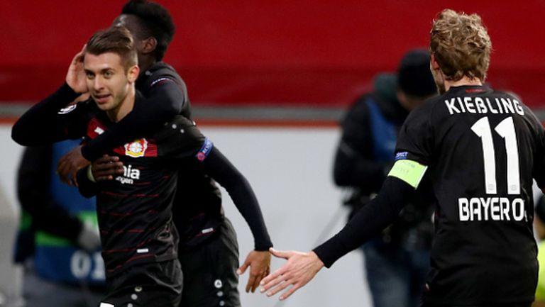 Леверкузен срази Монако в мач без значение (видео)