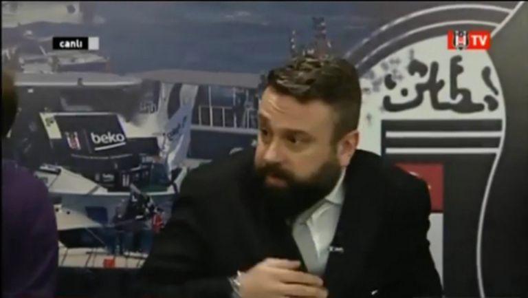 Ужасът от Истанбул се усети и в ефира на телевизията на Бешикташ (видео)