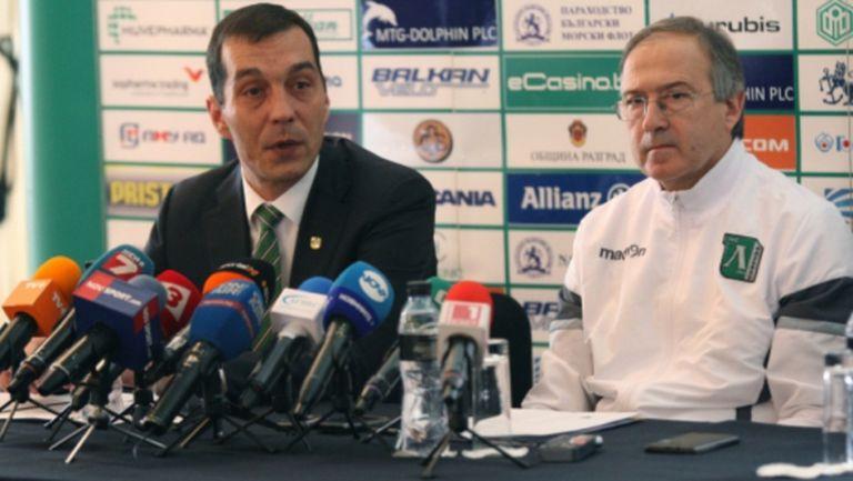 Петричев: Започваме много сериозно да инвестираме в стадиона