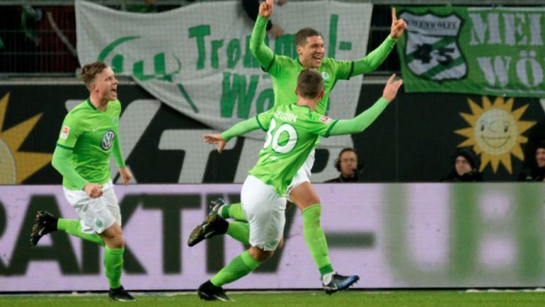 Волфсбург издрапа до 1:0 срещу Айнтрахт (видео)