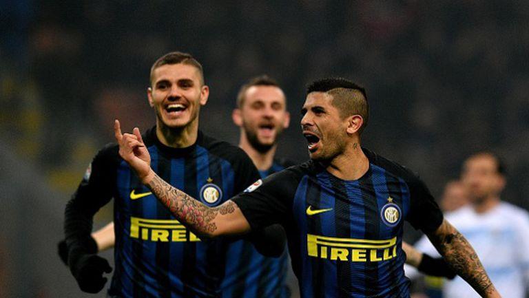 Интер подчини Лацио след страхотно второ полувреме (видео + галерия)