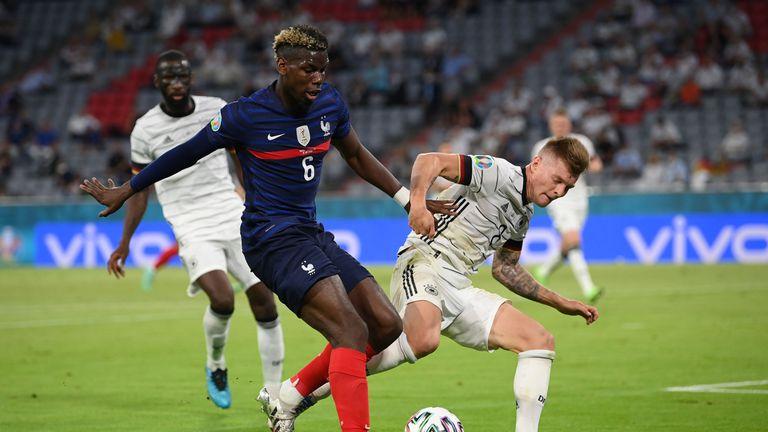 Пол Погба: Беше важно да победим Германия
