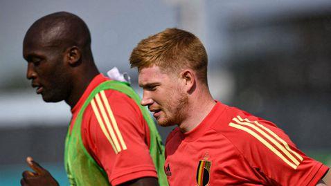 Де Бройне ще пътува за втория мач на Белгия