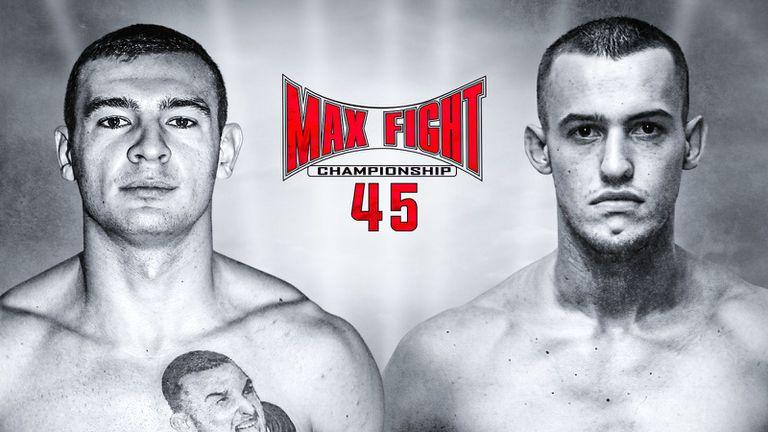 Корунчев и Наковски - срещу чужденци на MAX FIGHT 45