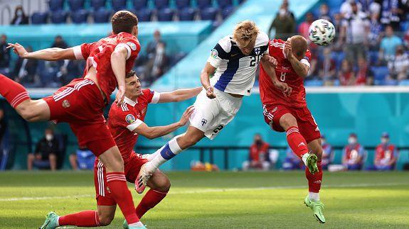 Отмениха гол на Финландия срещу Русия още в 3-та минута
