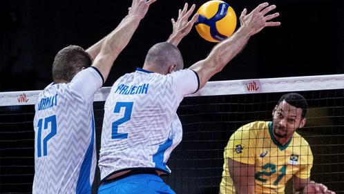 Словения скочи здраво на Бразилия, но спечели само точка в Римини