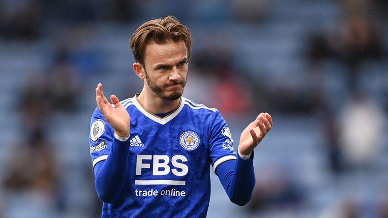 Арсенал се надява Лестър да свали цената на Мадисън, за да го отмъкне