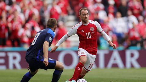 Ериксен може да е на стадиона за втория мач на Дания на Евро 2020