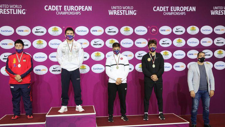 Сребро за Сали Салиев на Евро 2021 в Самоков