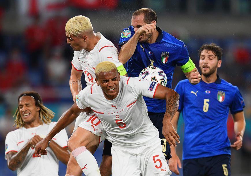 Италия - Швейцария 3:0
