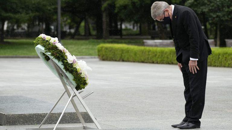 Томас Бах посети Хирошима
