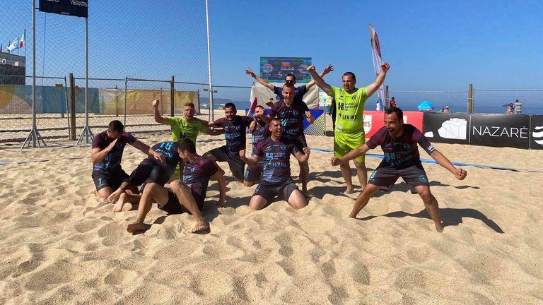 МФК Спартак сътвори подвиг и се класира за четвъртфиналите на ШЛ по плажен футбол