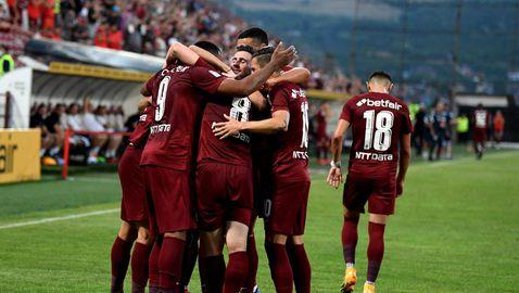 Шампионът ЧФР Клуж стартира сезона с победа в шоу с пет гола