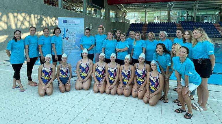 Наши треньори по артистично плуване се обучаваха в Хърватия