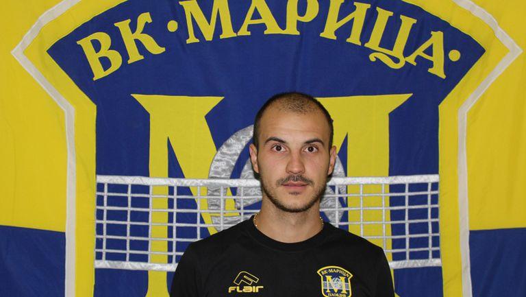 Борислав Крачанов: За мен е голямо удоволствие, че съм част от Марица 🏐