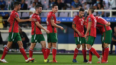 България се изкачи с пет места в ранглистата на ФИФА