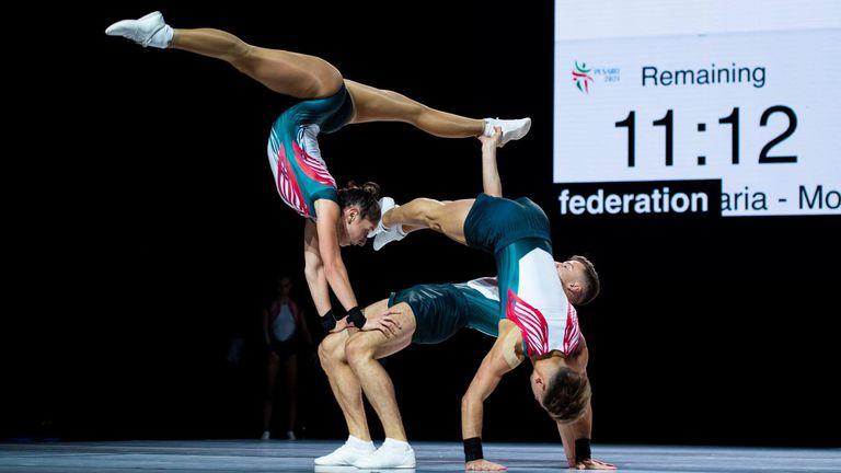 Силна тренировка за българите преди ЕП по спортна аеробика