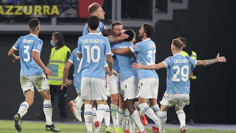 Лацио обърна Интер и нанесе първо поражение на шампиона в Серия А