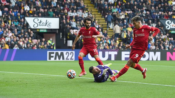 Фирмино поведе Ливърпул към разгром над Уотфорд с 5:0 като гост