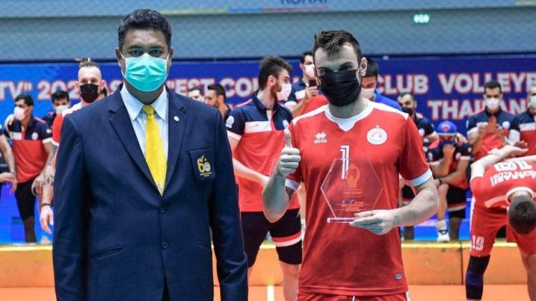 Български волейболист e най-добър разпределител на Азия