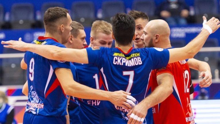 Силен Тодор Скримов с 19 точки, Енисей с първа победа в Русия