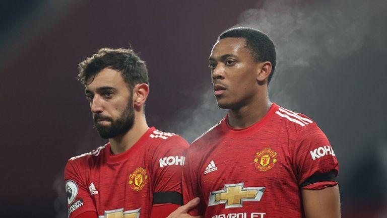 Манчестър Юнайтед надви Астън Вила с 2:1 след спорна дузпа