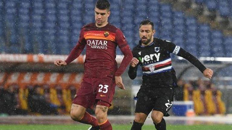 Героят Джеко донесе победата на Рома