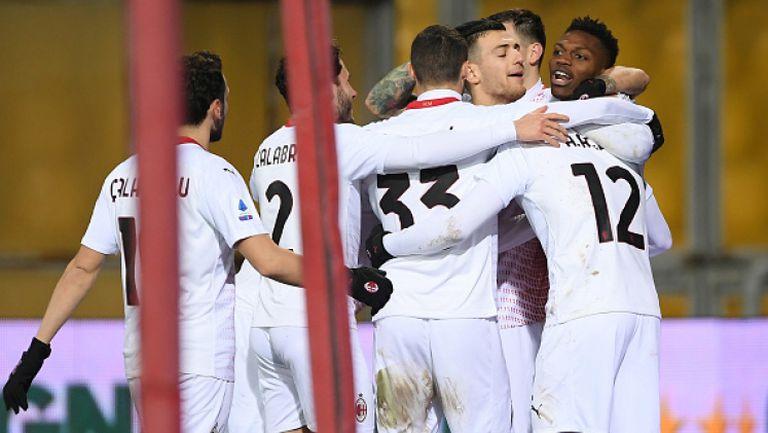 Милан отново лидер след успех с 2:0 срещу Беневенто