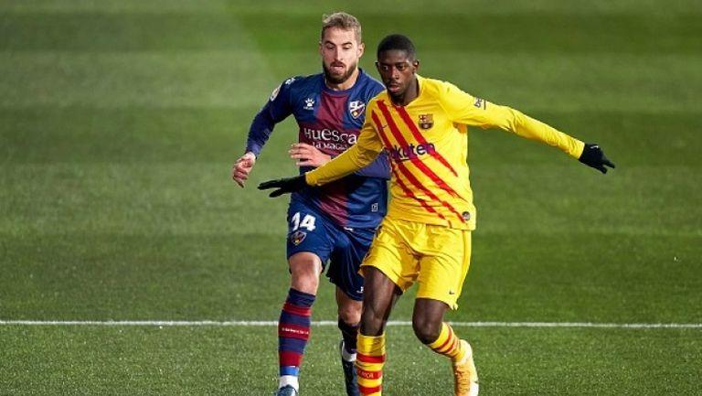 Барселона се измъчи, но победи Уеска с 1:0 като гост