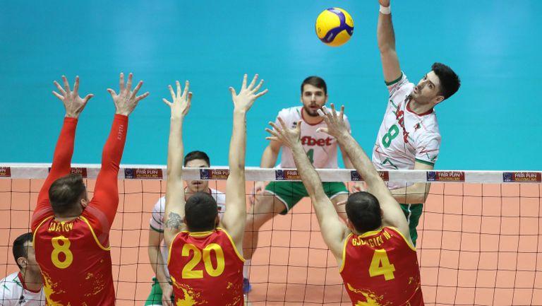 България - Северна Македония 3-1 (23:25 25:18 25:21 25:18)