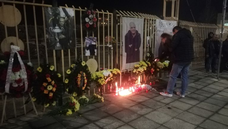 """""""Жълто-черен"""" Пловдив почете Тоско Бозаджийски на """"Колежа"""""""
