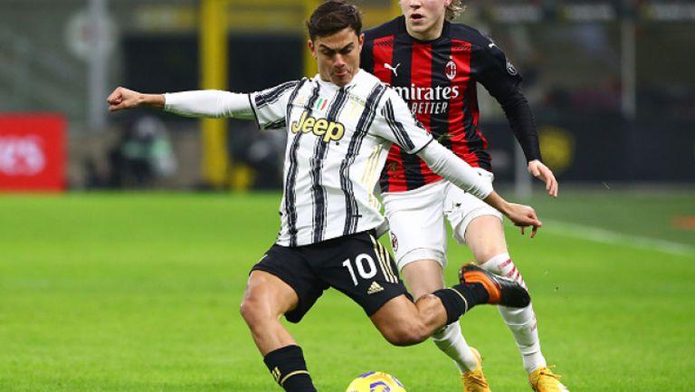 Ювентус нанесе първа загуба на Милан