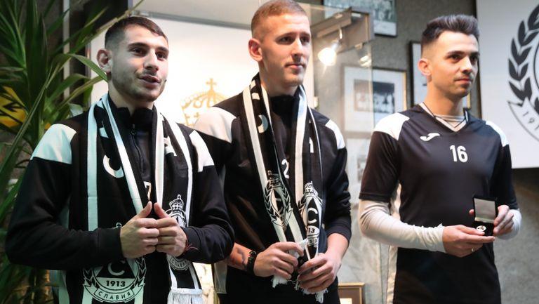 Славия представи новите играчи