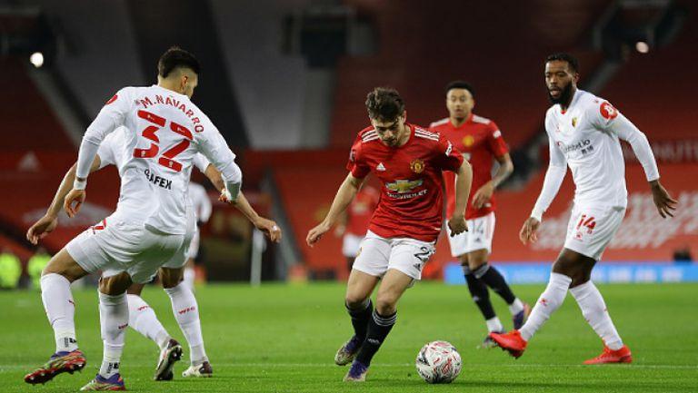 Манчестър Юнайтед с минимален успех над Уотфорд за Купата на Англия